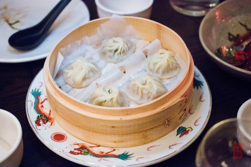 Xiao long bao - pork and crab soup dumplings