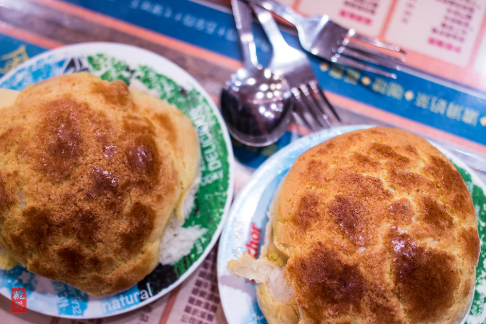 IMG_8610 Kam Wah Cafe - Pineapple bun with butter.jpg