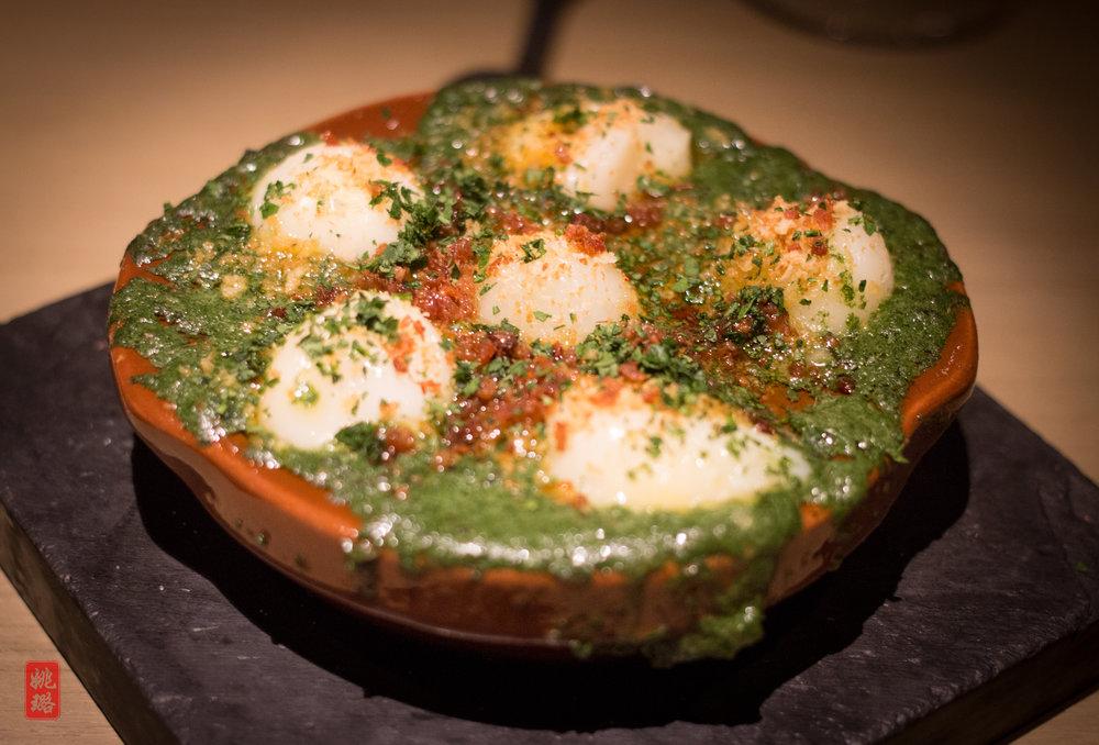 IMG_8667 Neighborhood - Pigeon eggs with escargot butter.jpg
