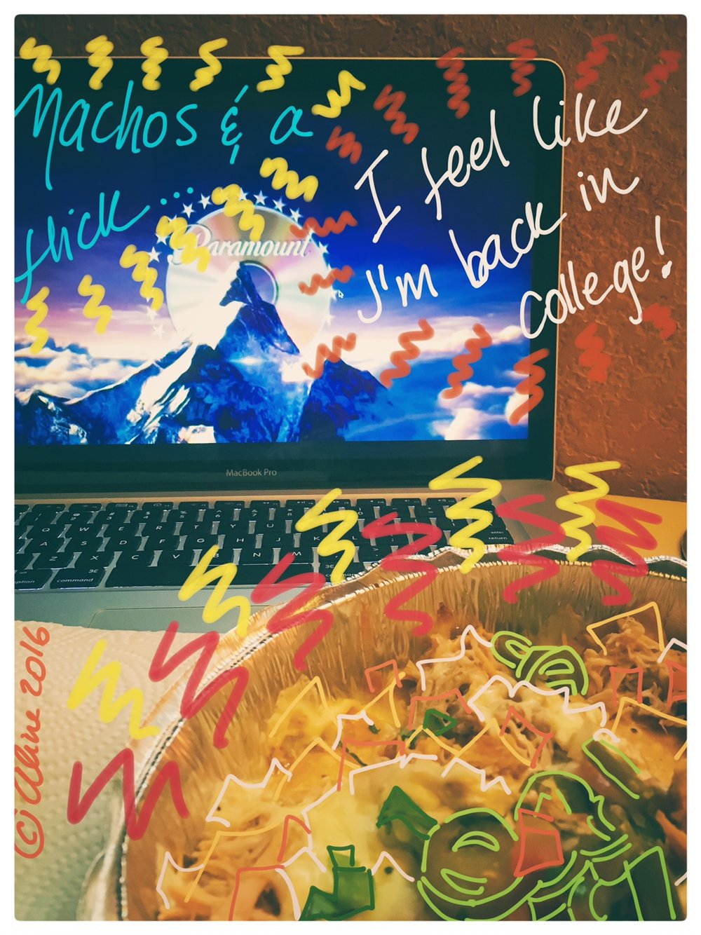 In the face of unpredictable facts... nachos and a movie it is!