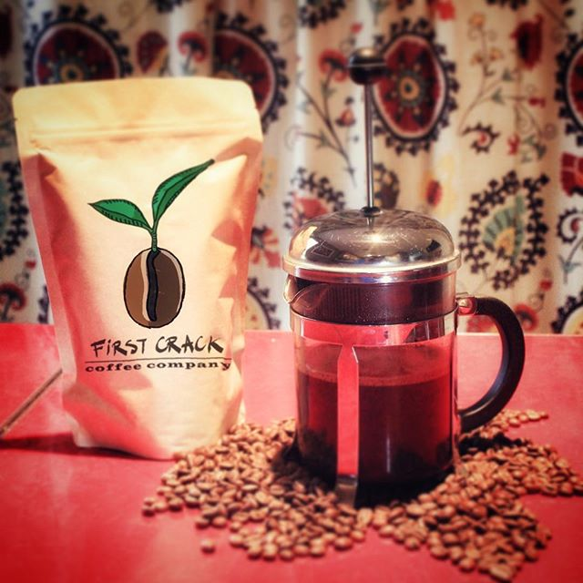 First Crack Coffee brewed the French Press way... or any other way, it's delicious! Carefully selected beans, lovingly roasted in Jacksonville Beach. ❤️ Order your bag through our website today - link in bio. . . . #firstcrackcoffeeco #jacksonvillecoffee #coffee #jacksonvillebeach #coffeelovers #coffeeroasters #frenchpress #buylocal #coffeebeans #jacksonville #firstcrackcoffeejax