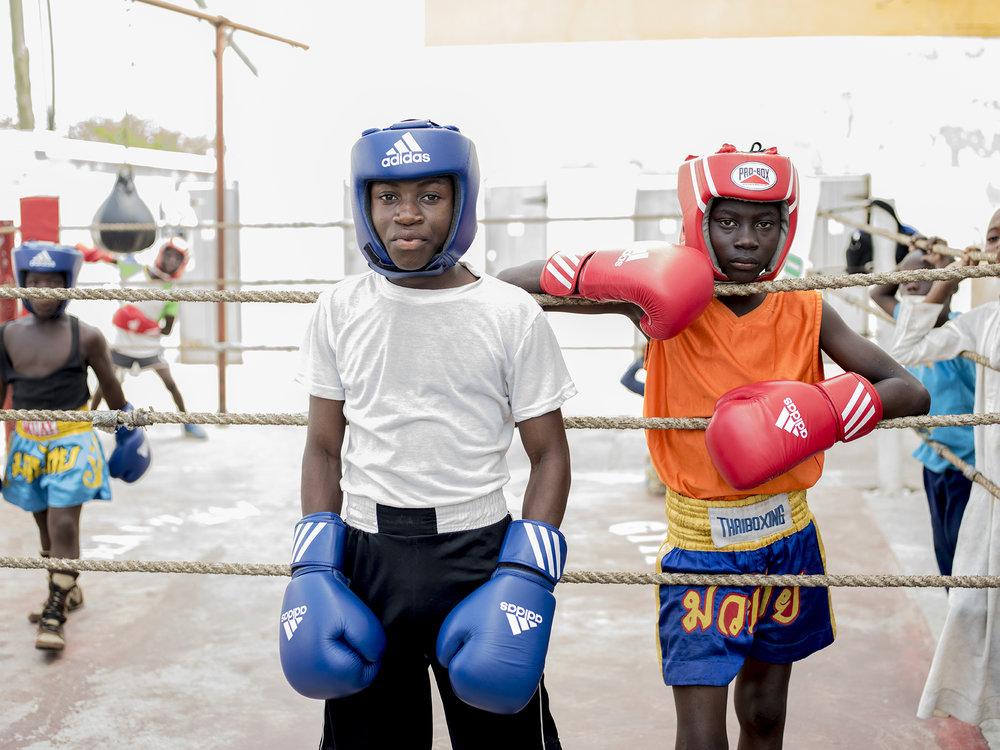 Accra boxers
