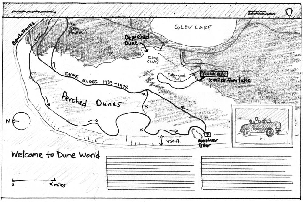 Wayside #6: Cottonwood Trail
