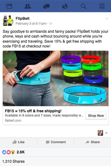 FlipBelt Facebook Ad Photoshop Edits FlashStock