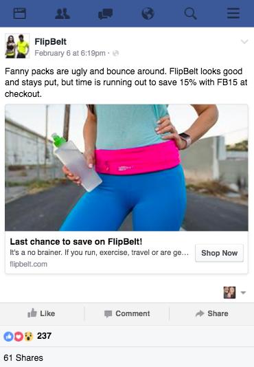 FlipBelt Facebook Funnel Ad FlashStock