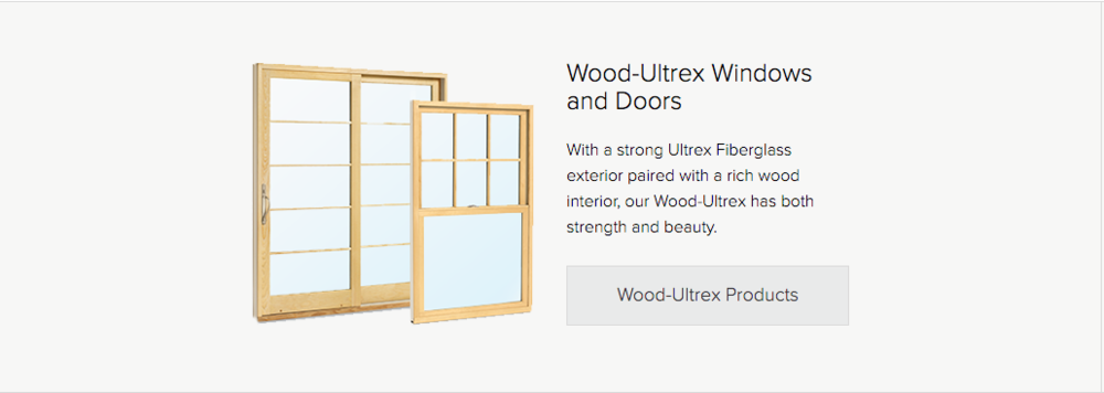 Wood Ultrex Windows and Doors