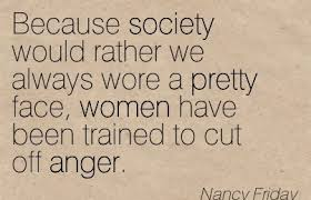 women trained out of anger