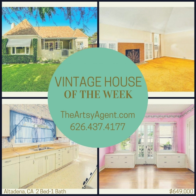 Altadena vintage home for sale