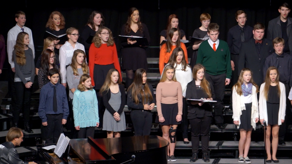 Chamber Singers and 8th Grade Choir