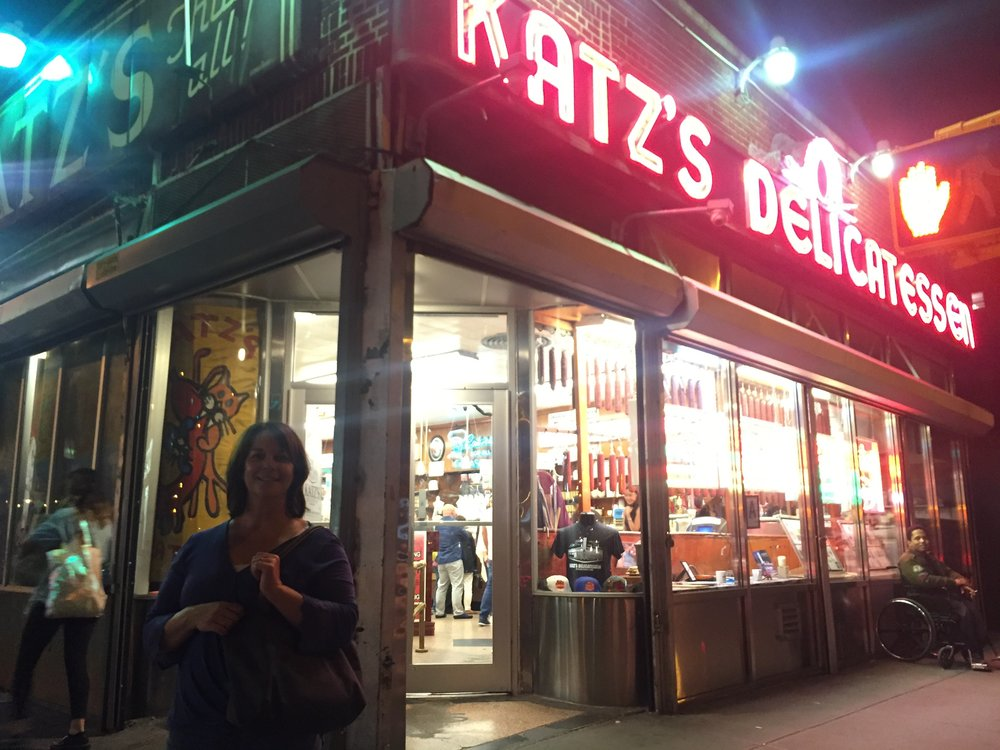 katz deli | ft. my mom