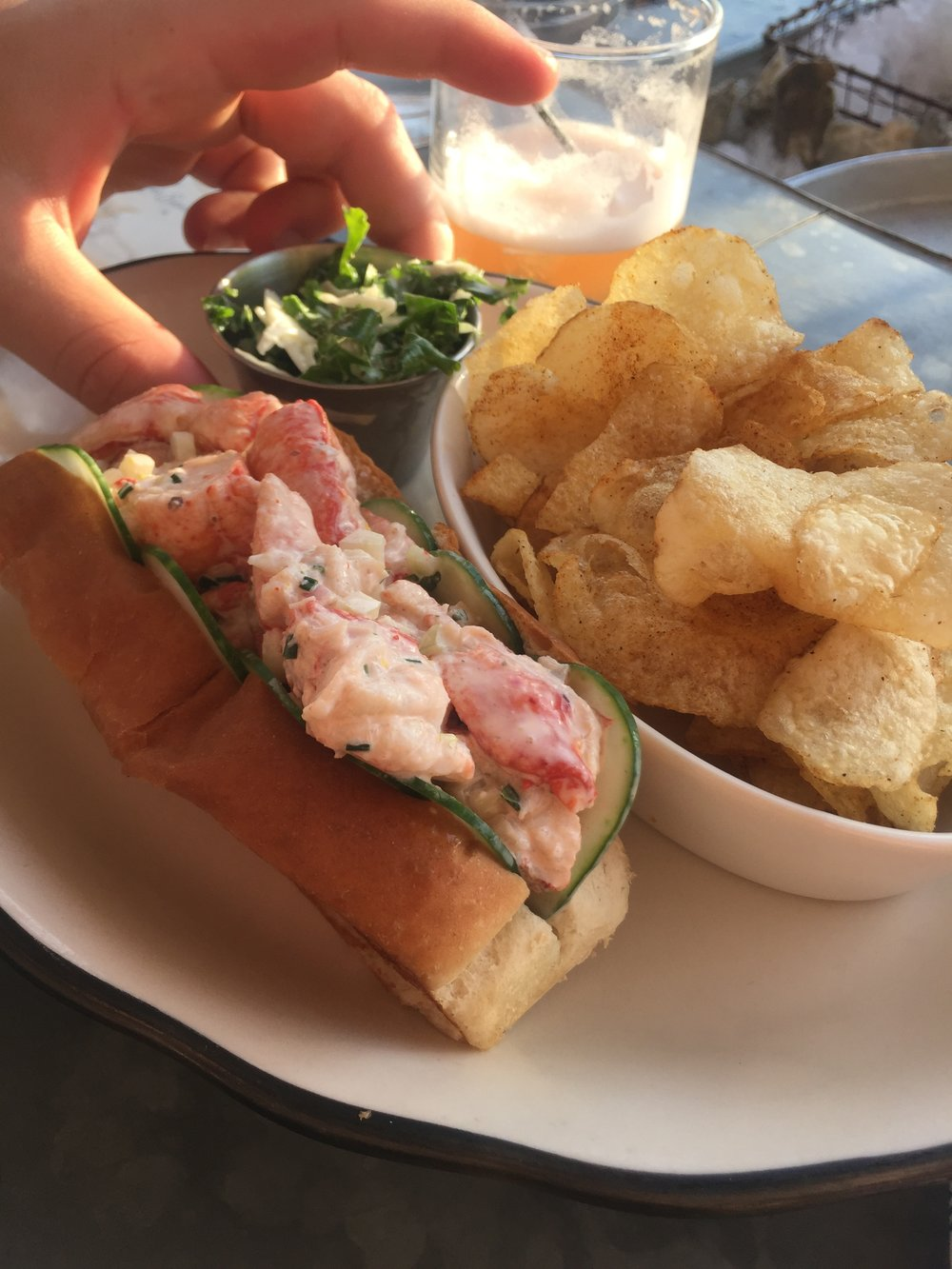 grand banks | lobster roll