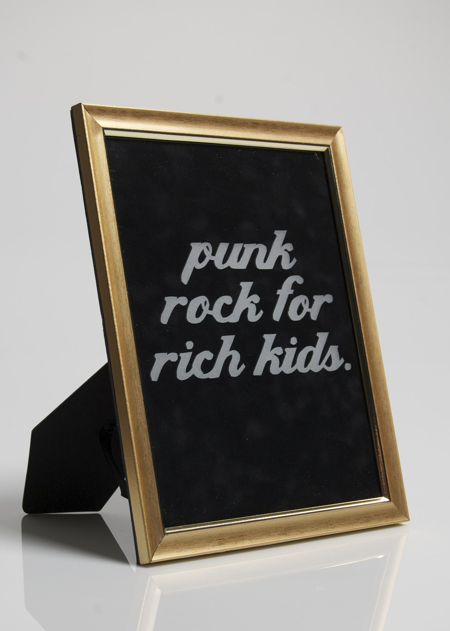 punk rock for rich kids