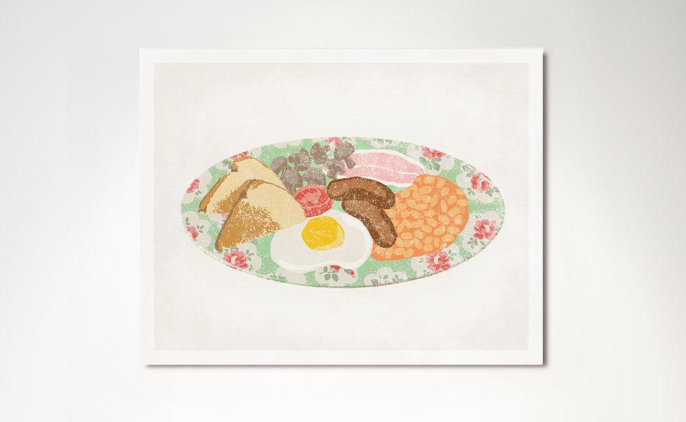 Cath Kidston 2012. Illustration by Selina Chandnani & Cath\u0027s Cafe \u2014 Selina Chandnani