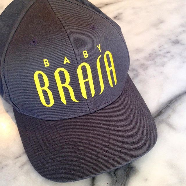 Baby Brasa cap! ⚡️Get it while you can. @babybrasa Lower East Side  #BabyBrasa #StayGold #SpringinNYC