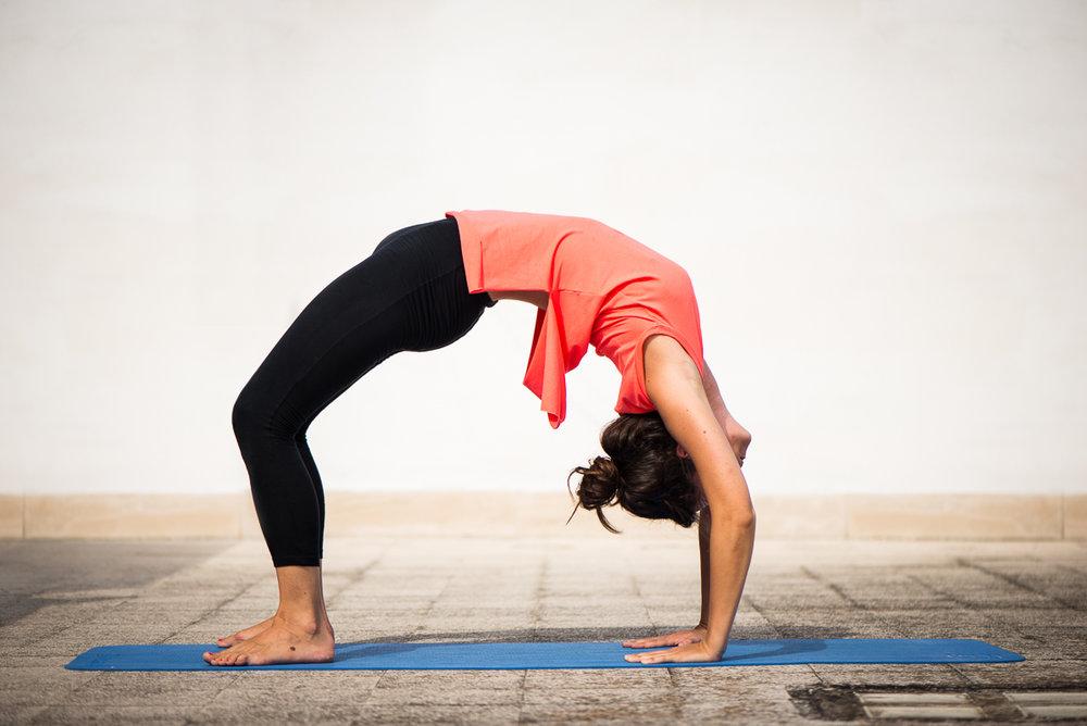 Yoga Urdhva Dhanurasana