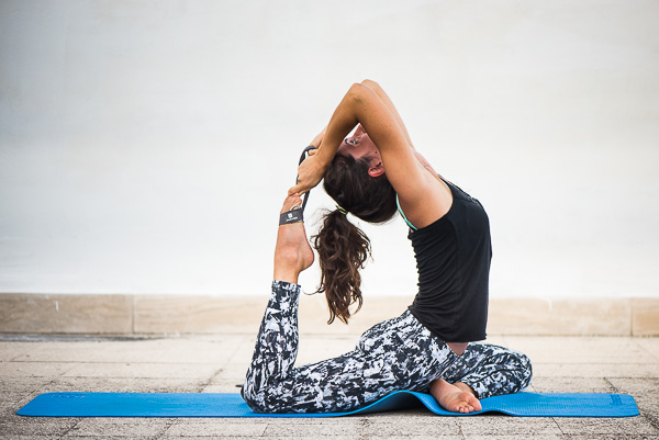 Yoga Eka Pada Rajakapotasana (re dei piccioni)