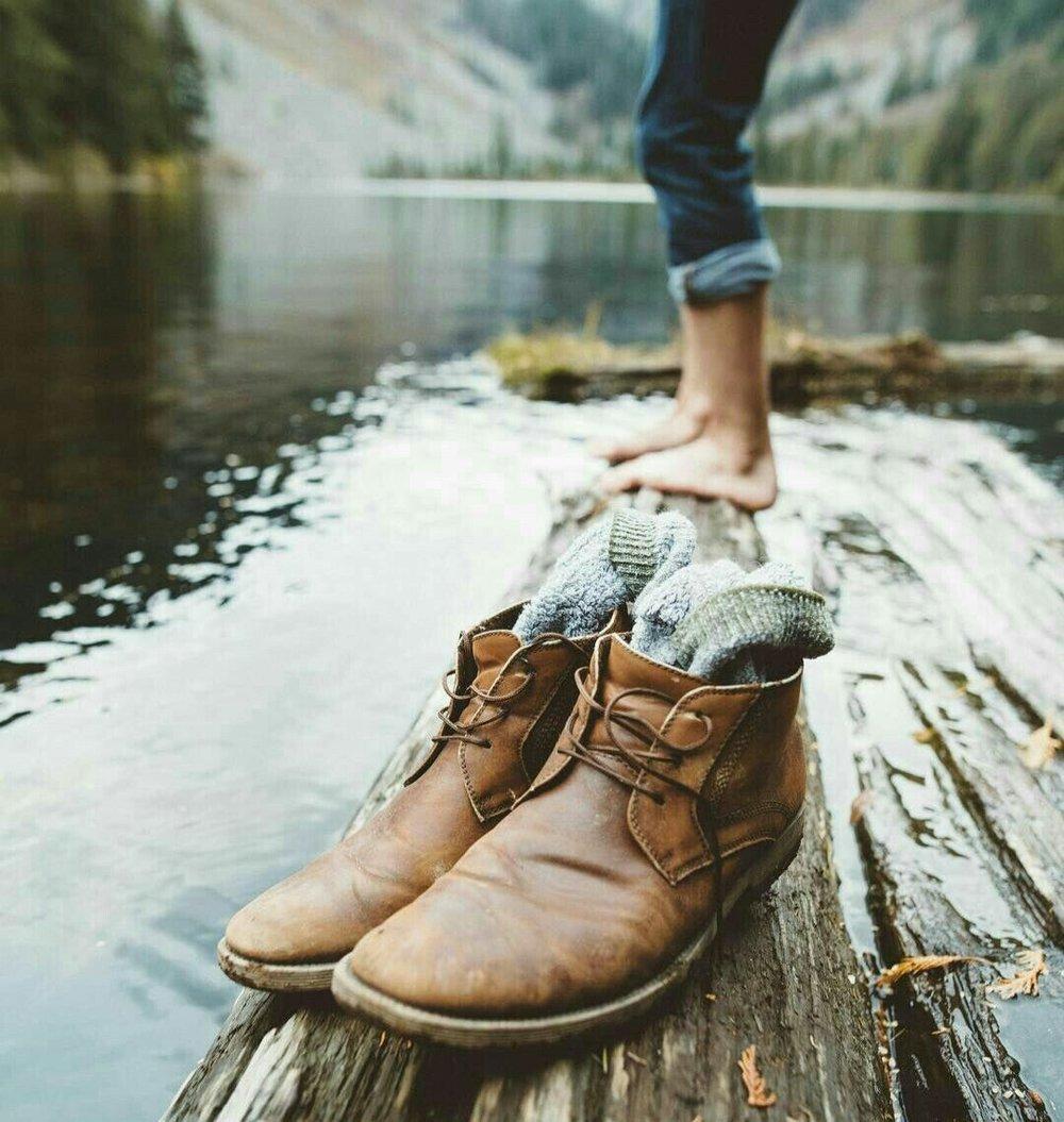 Le scarpe vecchie e il desiderio di cambiamento