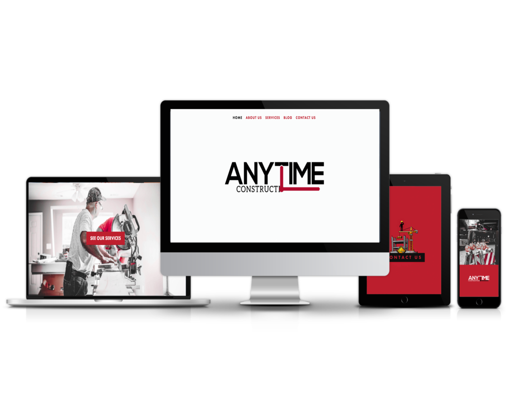 Anytime Construction (Construction Website)