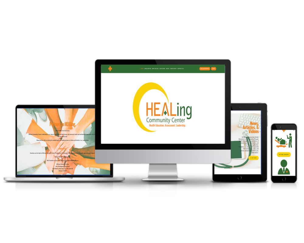 Healing Community Center (Health Center Website)