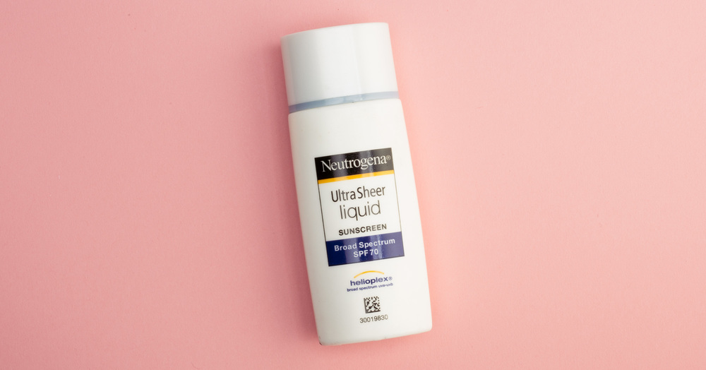 Sunscreen Review: Neutrogena Ultra Sheer Liquid