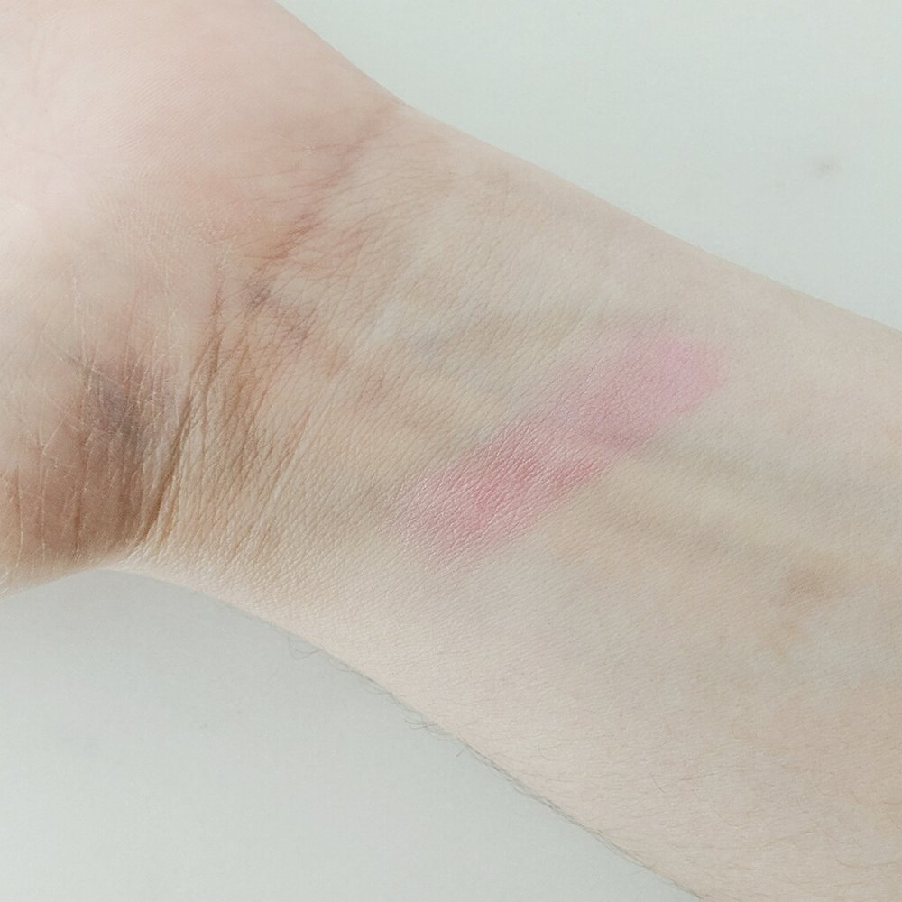 Orgasm Afterglow lip balm swatch