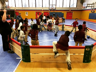 Backyard Sports Cares and #MissionGaGa at the Mount Vernon Boys and Girls Club earlier this year!