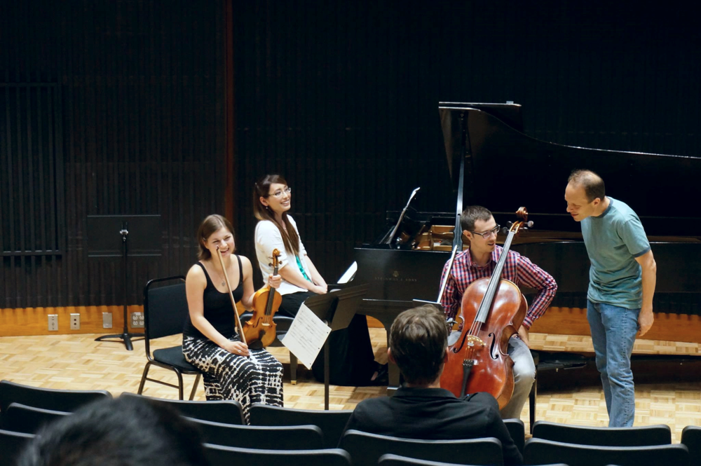 Amarok Ensemble in Stanford, CA (2015)