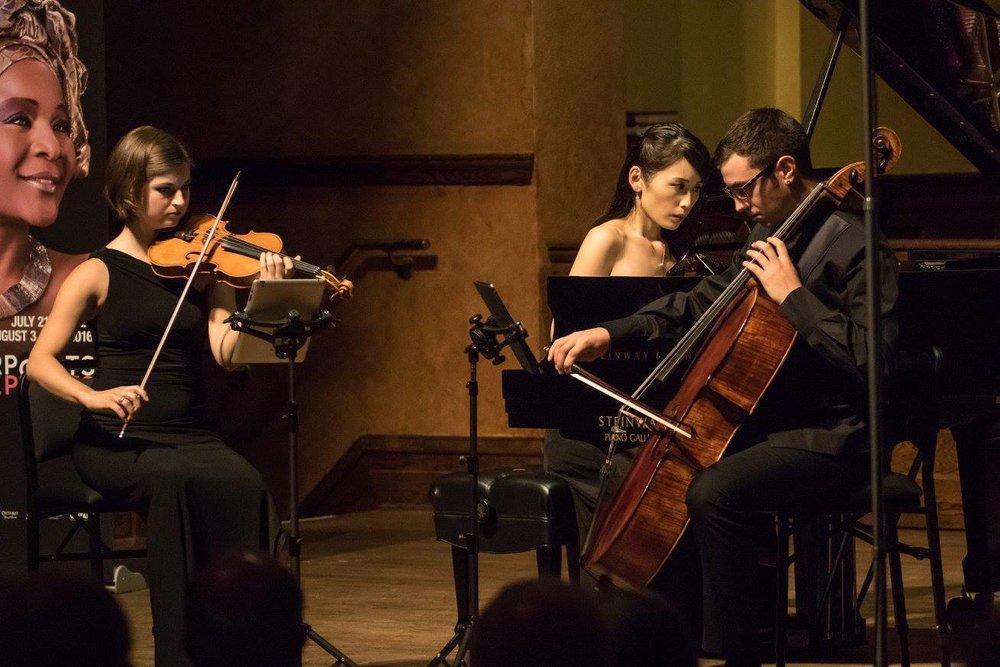 Amarok Ensemble at Ottawa Chamberfest (2016). Photo by Michael Gauthier.