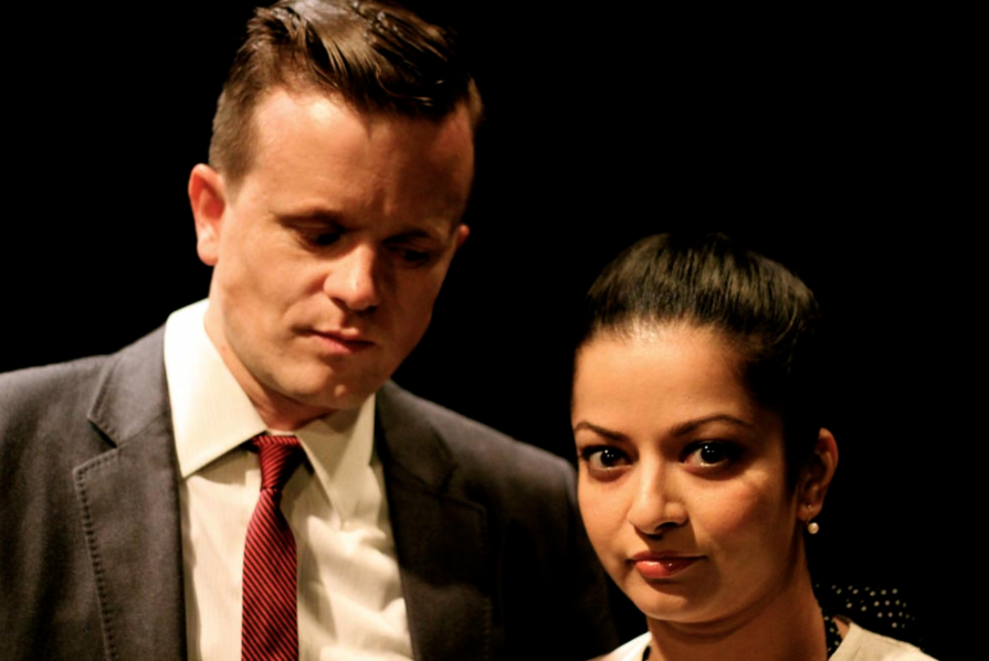 With Swati LaPerre as Halema. Photo: Sara Brooke Curtis