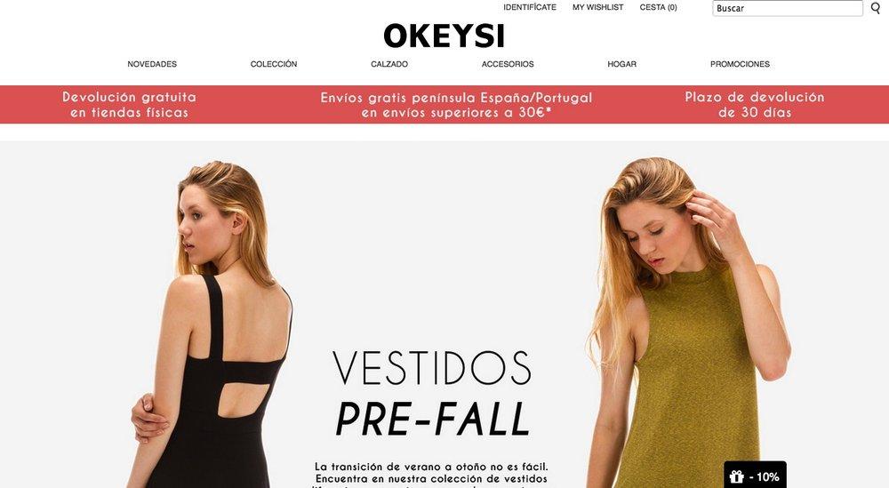 Web www.okeysi.com