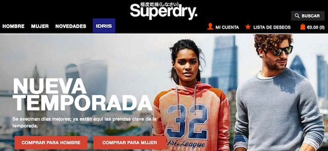 Tienda Superdry
