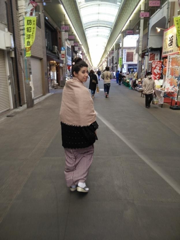 Laura en Japón