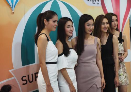 Imagen que realicé en Bangkok, en un evento de moda en la ciudad