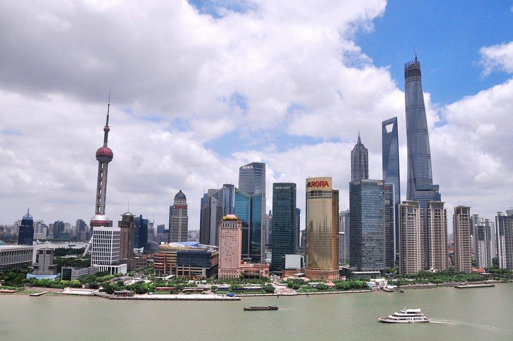 Vistas del Bund, Shanghai