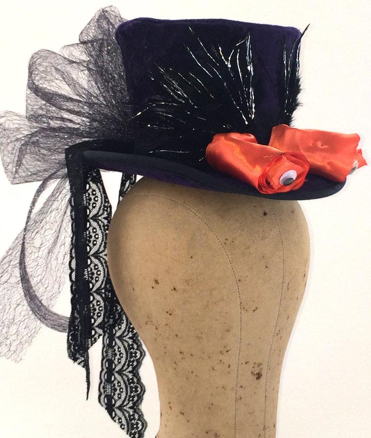 funny mini hat halloween mini hat funny halloween hat womens mini hat men mini hat kid mini hat adult mini top hat photo prop minihat