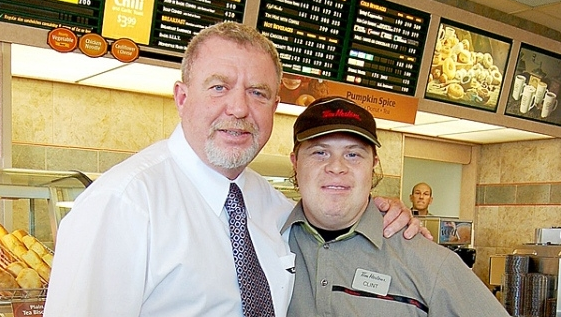 Tim Horton's fRANCHISE oWNER - Mark Wafer