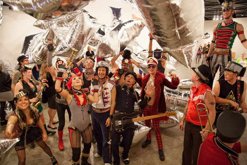 March Fourth takes over the Andy Warhol Silver Cloud exhibit in Arlington!
