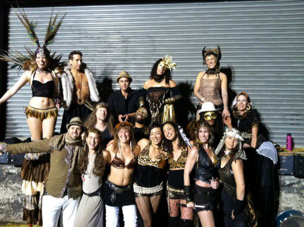 Sea of Dreams with Samba Stilt Circus  Photo by Melanie Myers