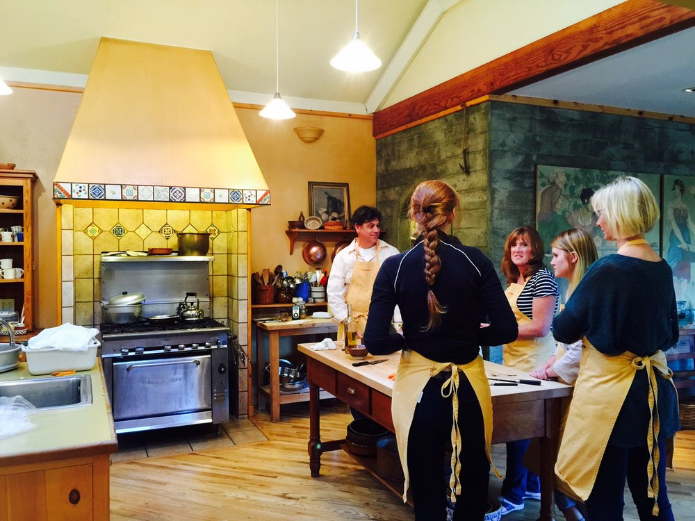 1st cooking class of the season