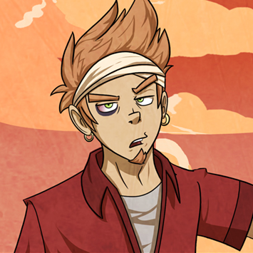 Marco as he appears in the primary timeline.