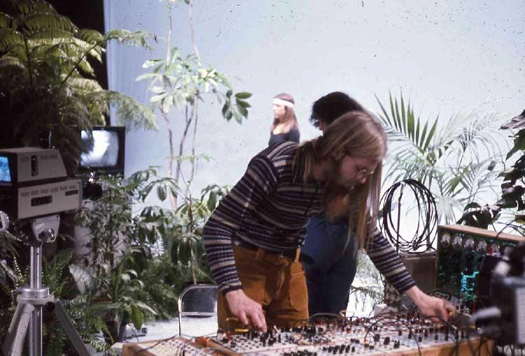Tom Zahuranec routes amplified plant energy into handmade Tcherepnin synthesizers.