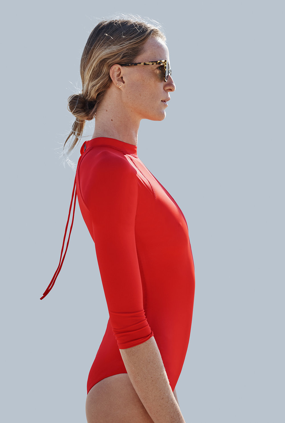 Riis Surf Suit (Red)