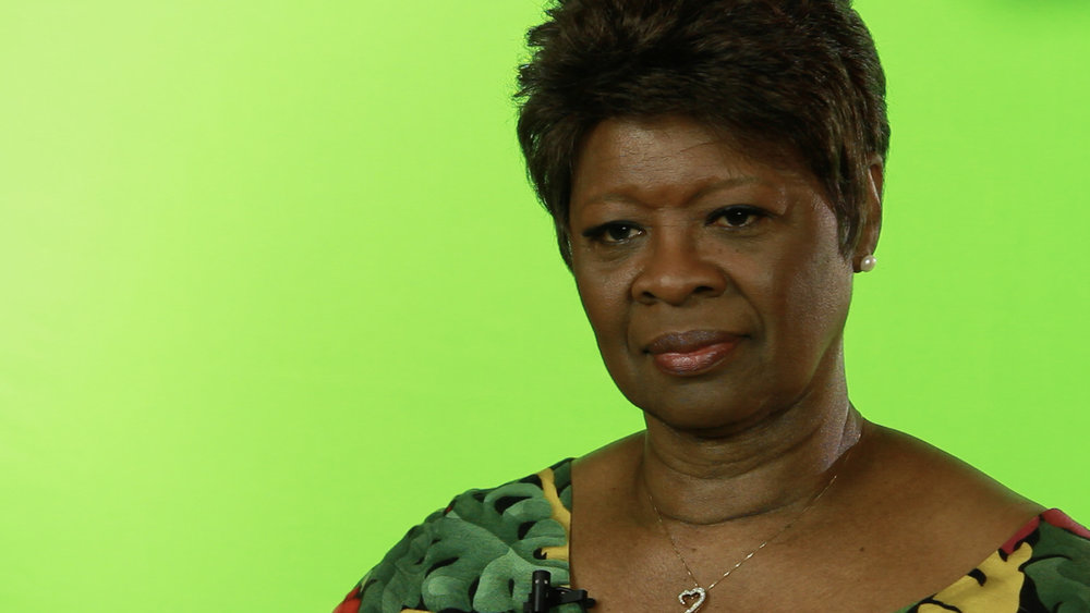 """Irma Thomas (""""the Queen of Soul"""")"""