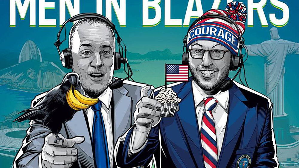 MEN IN BLAZERS ºº ONLINE SHOW