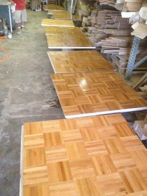 Nightclub Dance Floor Installation Z Best Hardwood Floors