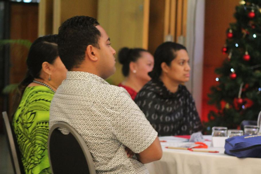 Participants of the Pacific regional program on public procurement in Apia, Samoa.
