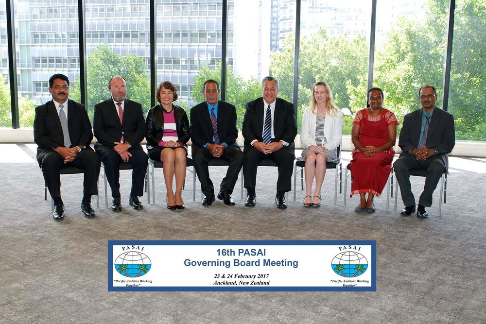 Photo above: The PASAI Governing Board members.