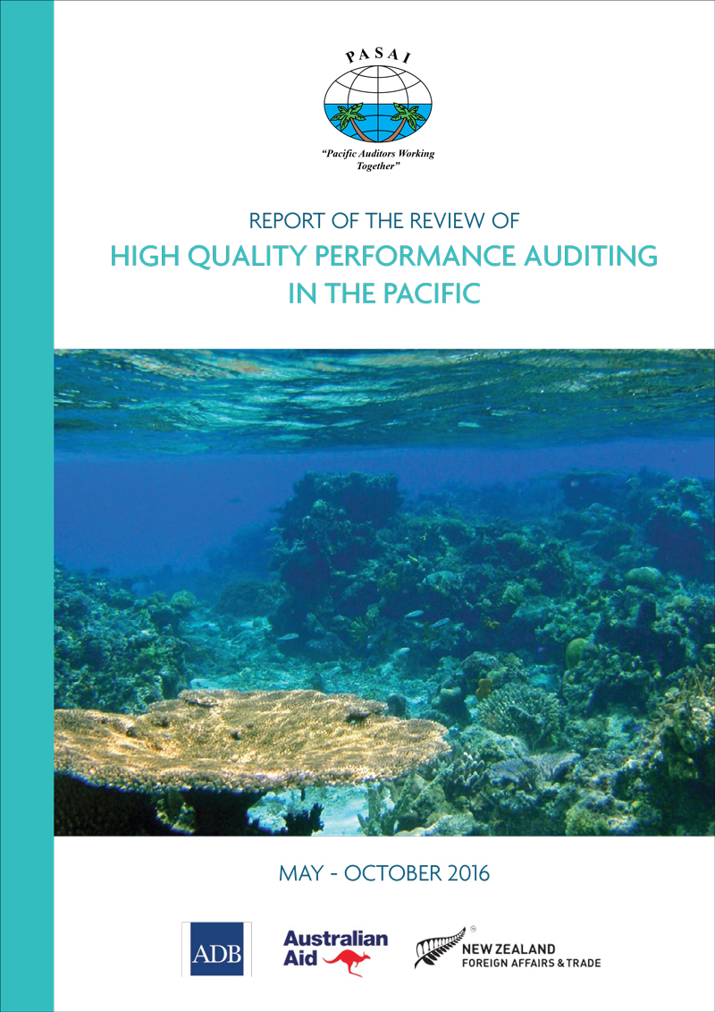 Report of the Review of High Quality Performance Auditing in the Pacific   - CLICK TO READ