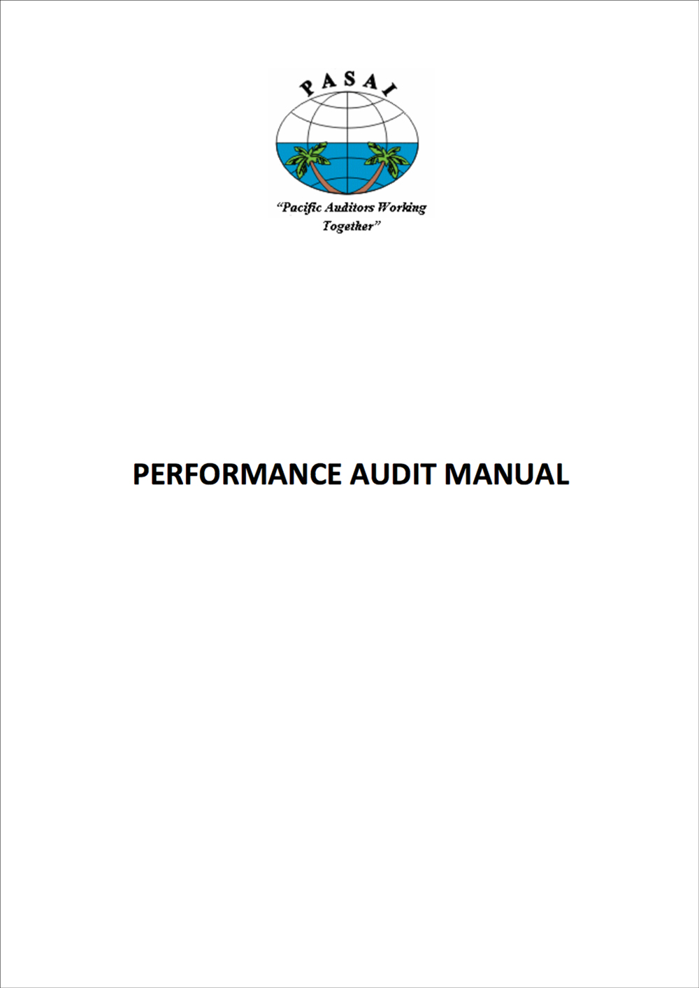 PASAI Performance Audit Manual
