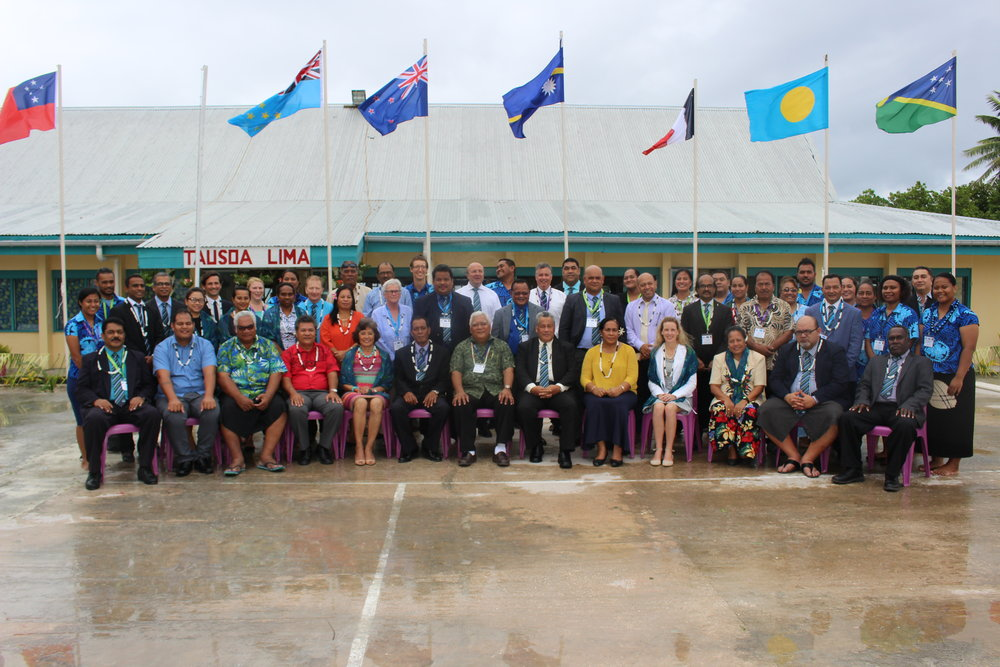 Members at PASAI's 20th Congress in August 2017, Tuvalu